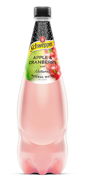 Apple & Cranberry Mineral Water